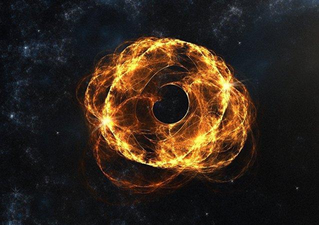 Fenómenos espaciales (imagen referencial)