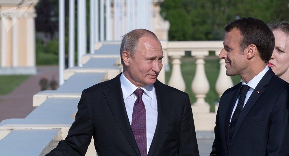 Poutine et Macron