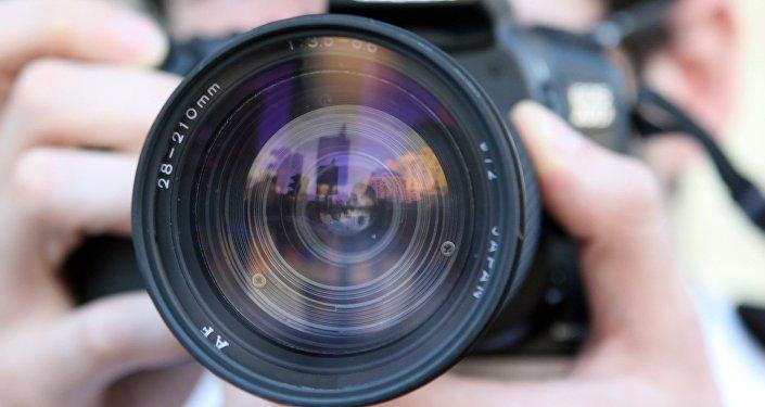 Une caméra