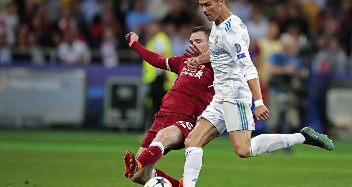 Cristiano Ronaldo en finale de la Liguedes champions