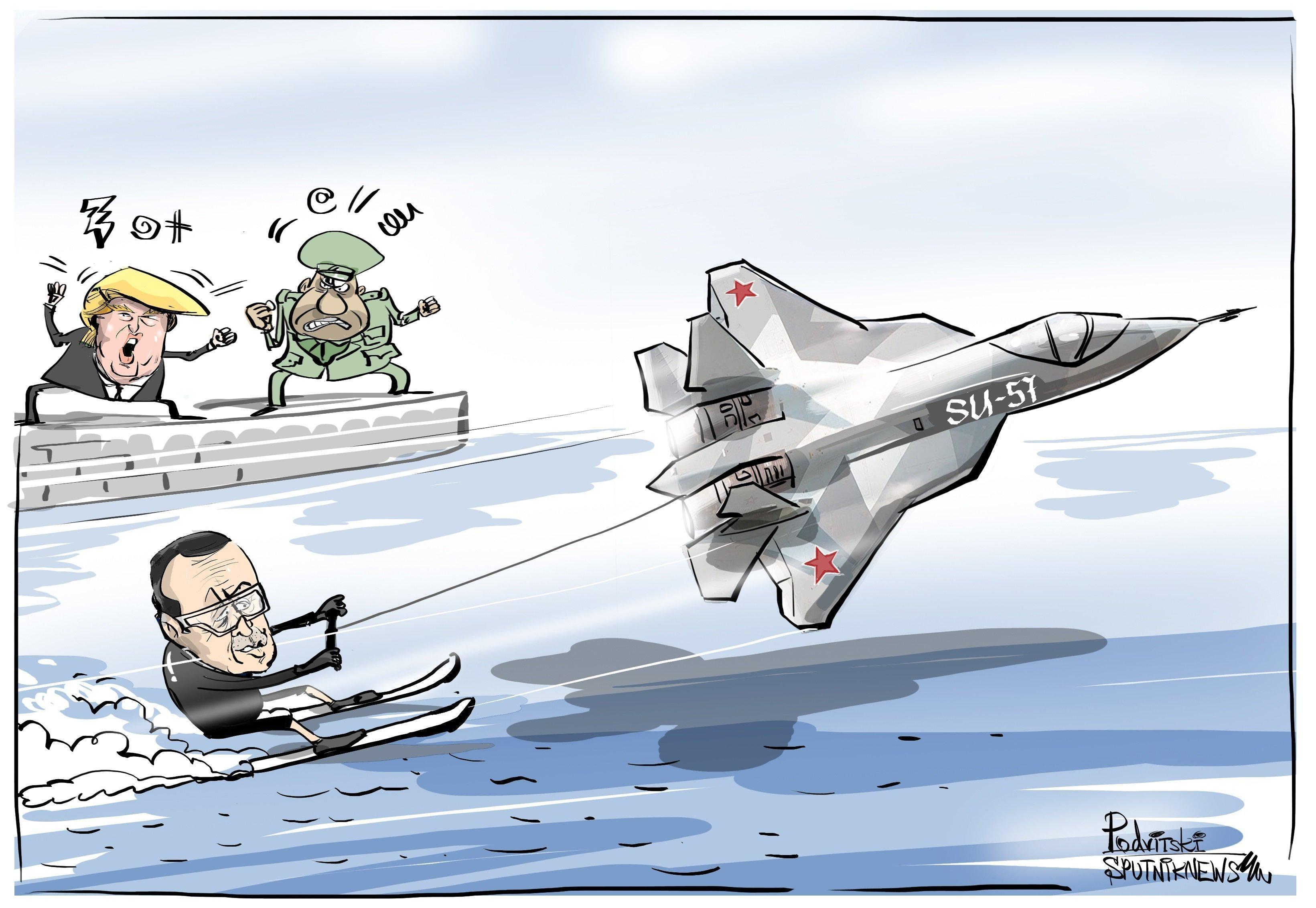 La Turquie enverrait un signal aux USA en étudiant l'achat de Su-57 russes au lieu des F-35 US