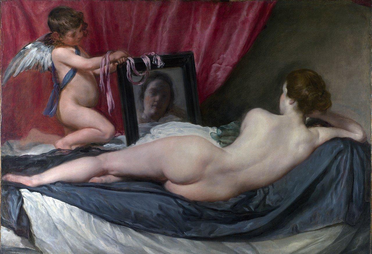 Vénus au miroir par Velasquez