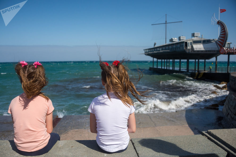 Le début d'une nouvelle saison balnéaire en Crimée