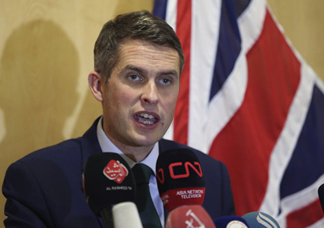 Ministre britannique de la Défense Gavin Williamson