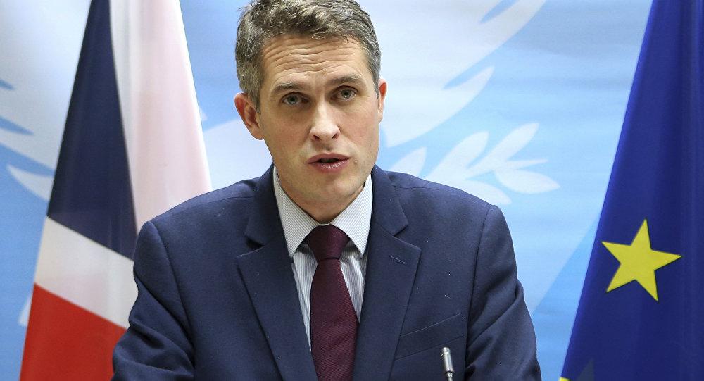 Secrétaire d'État britannique à la Défense, Gavin Williamson