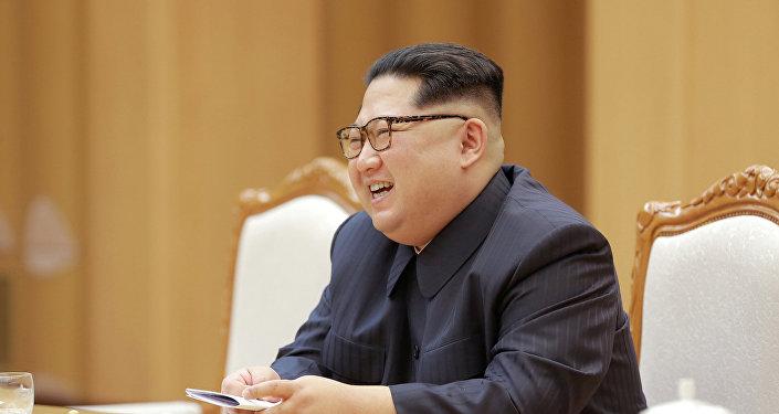 Nordkoreas Staatschef Kim Jong-un (Archiv)