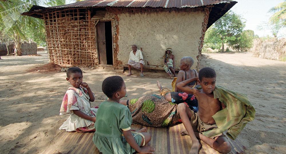 Des enfants en Afrique