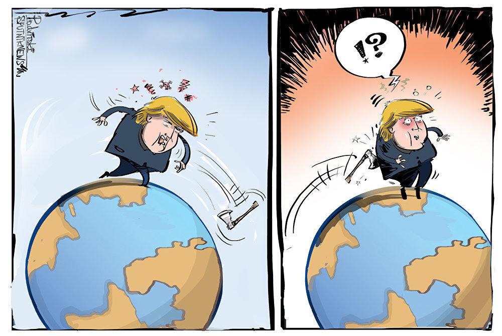 Trump a déclaré la guerre commerciale à l'UE