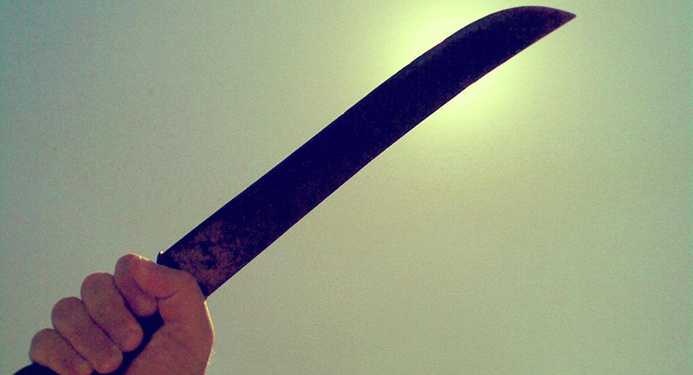 Une machette