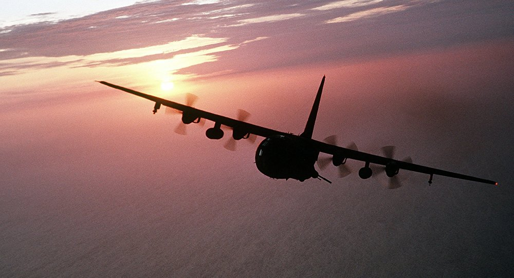 C-130 Hercules. Photo d'archive