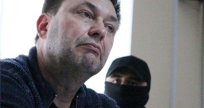 Kirill Vychinski devant le tribunal