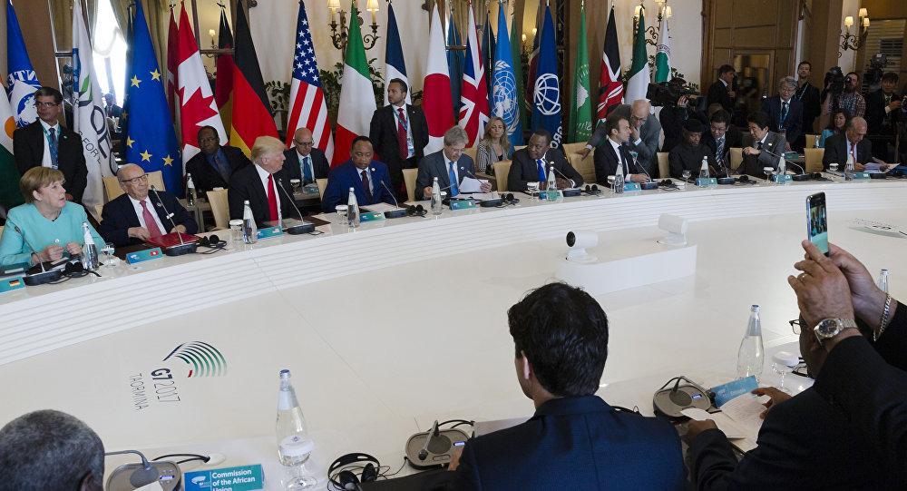 Sommet du G7. Photo d'archive