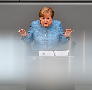 Angela Merkel. Photo d'archive