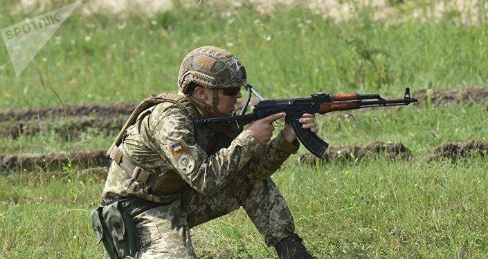 Un soldat l'armée ukrainienne (image d'illustration)