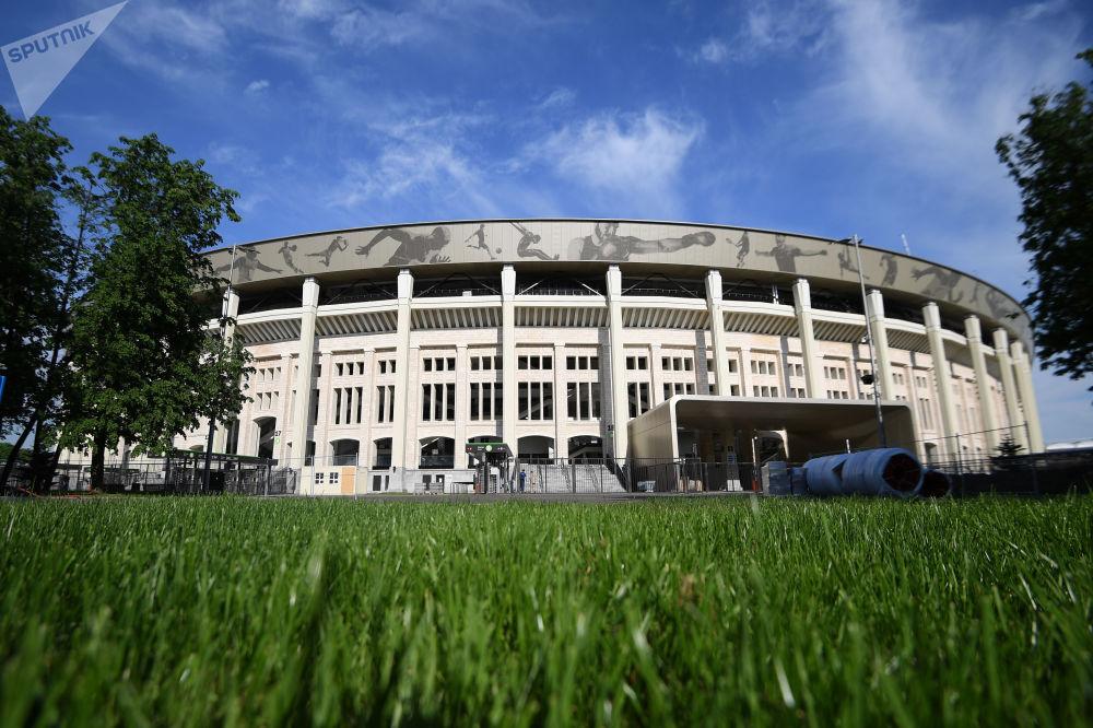 La Grande arène sportive Loujniki à Moscou.