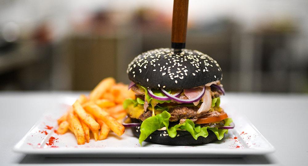Burger du roi chez Fresh Diets, service de livraison de repas à Volgograd