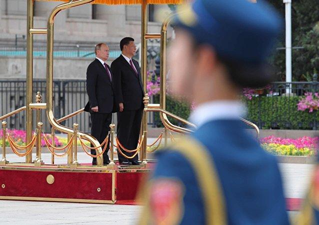 visite de Vladimir Poutine en Chine