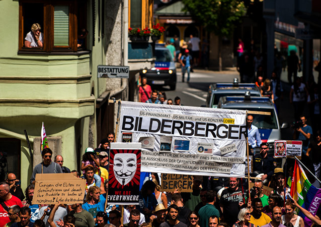 Le proteste contro la coferenza Bilderberg in Austria (foto d'archivio)