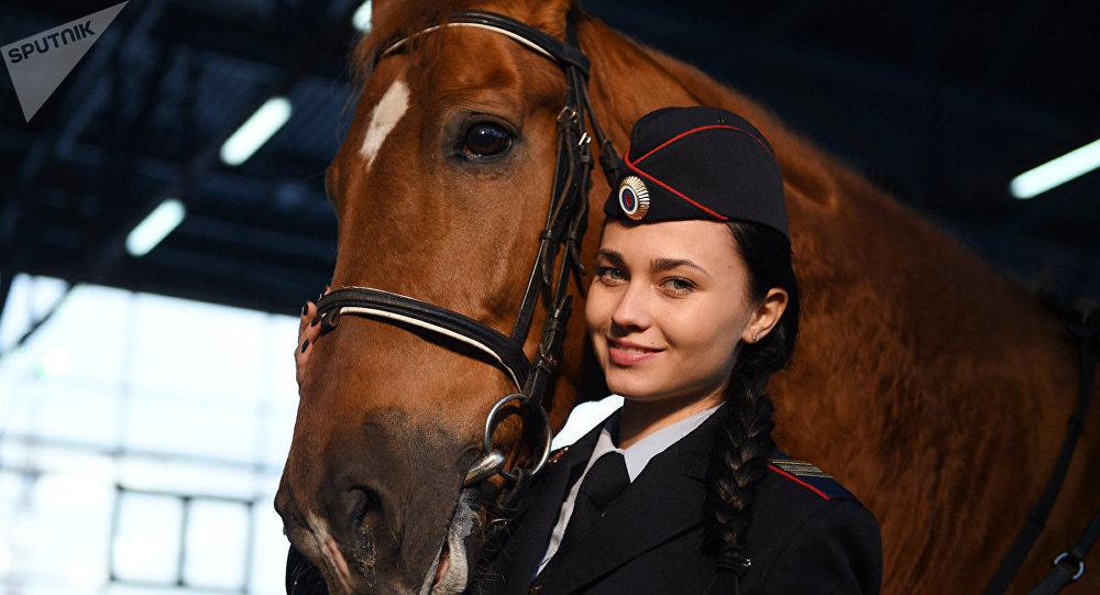 Policière russe Tatiana Zima