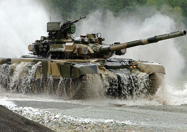 Un char T-90S