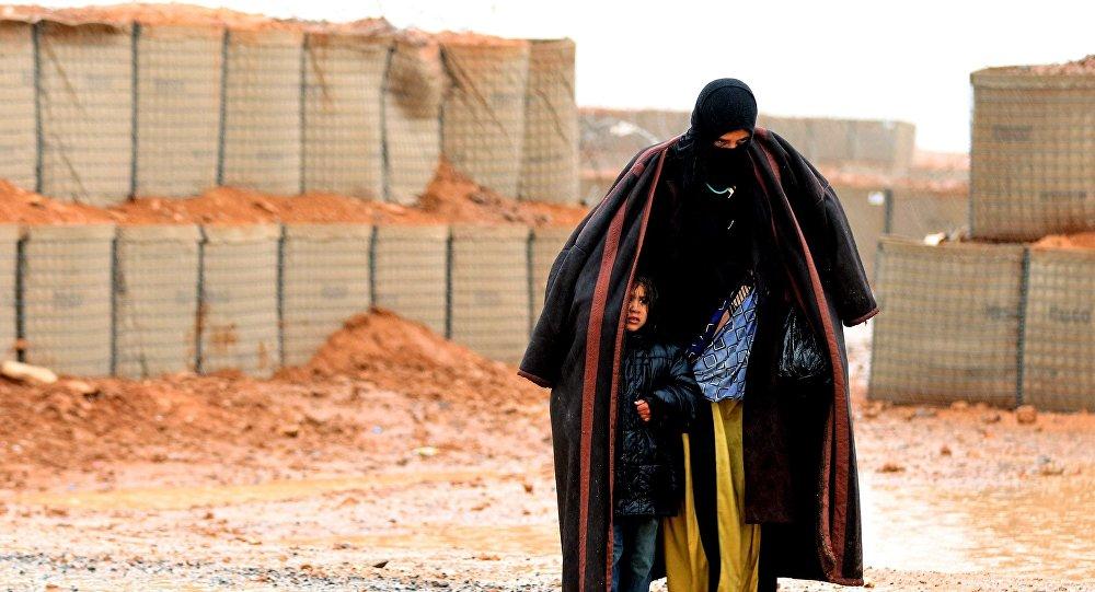 Le camp de réfugiés d'al-Roukhban. Photo d'archive