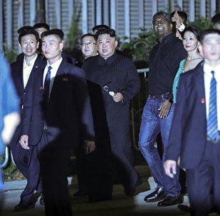 Kim Jong-un à Singapour