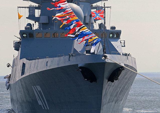 La frégate russe Admiral Gorchkov