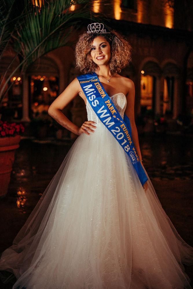 Zoé Brunet qui a remporté le titre de Miss Mondial 2018.