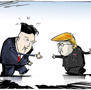 Trump et Kim échangent des coiffures