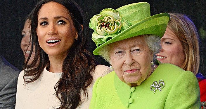 Amer, son père s'attaque à la reine Elizabeth II — Meghan Markle
