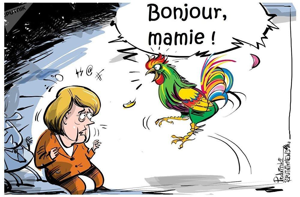 Macron apprendra à l'UE à parler français