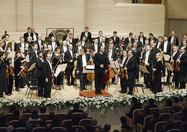 L'orchestre Mariinski dirigé par Valery Guerguiev