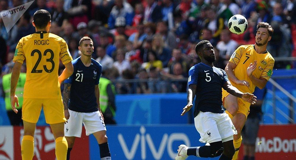 Samuel Umtiti, Coupe du Monde 2018