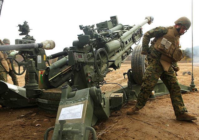 L'obusier américain M777A2