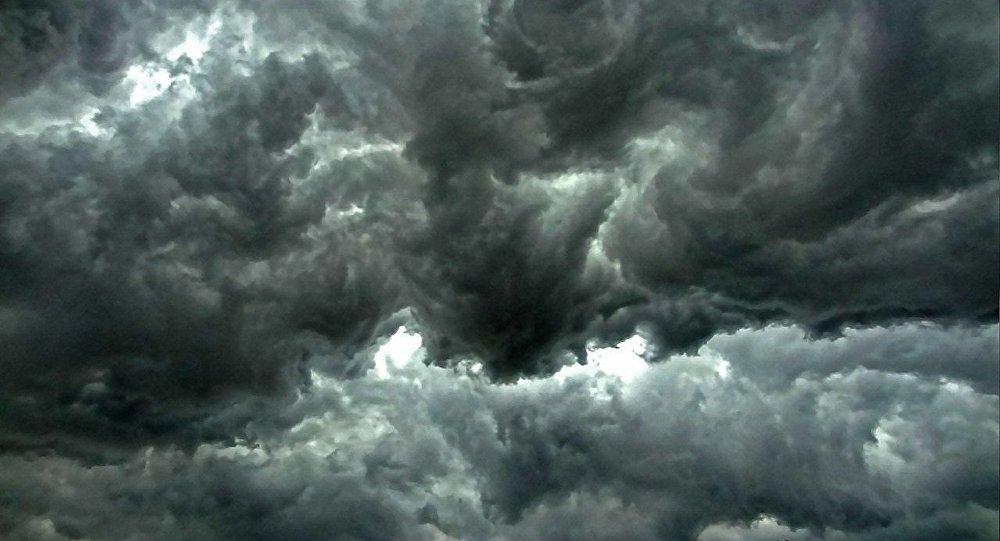 Des nuages. Image d'illustration