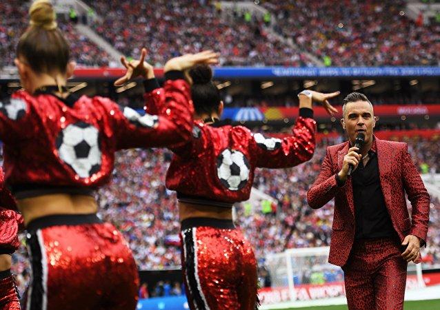 Cérémonie d'ouverture de la Coupe du monde 2018