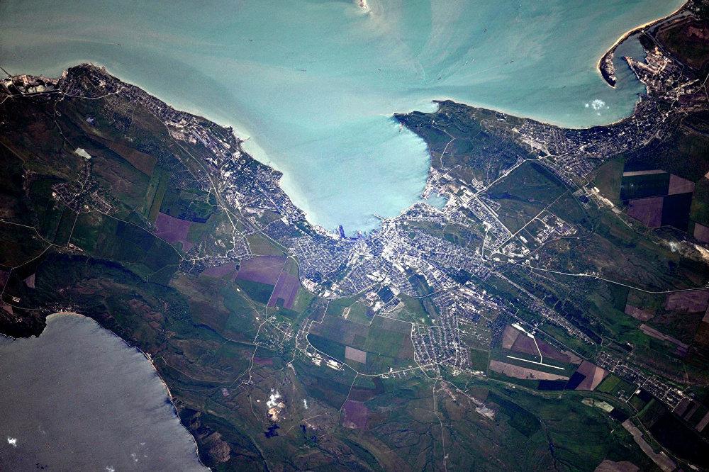 La Crimée prise en photo depuis l'ISS