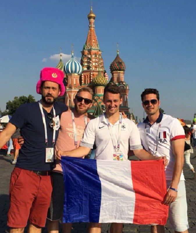 Clément et ses amis à Moscou