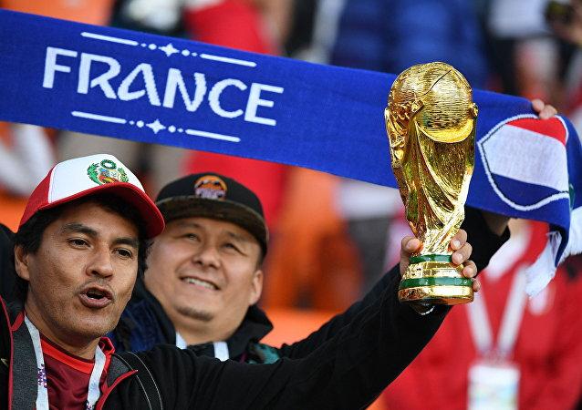 Football Coupe du monde 2018 Match France - Pérou