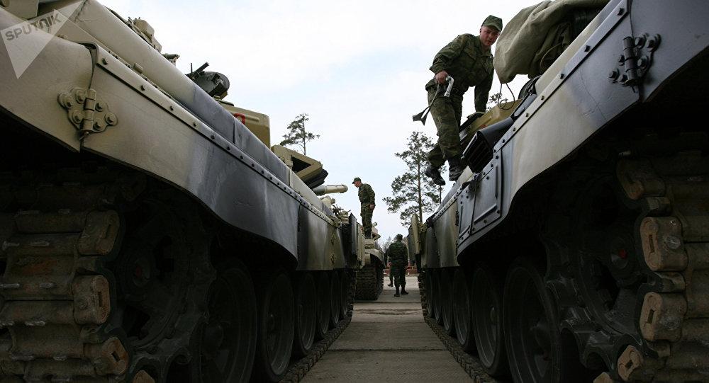 Des chars T-72