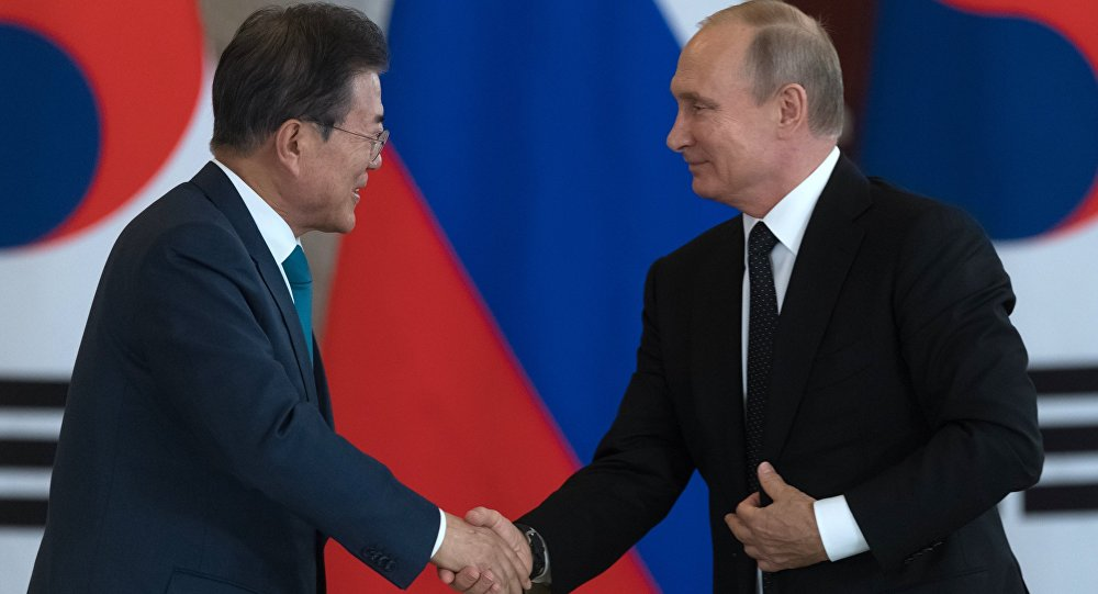 Le Président sud-coréen dit être tombé amoureux...