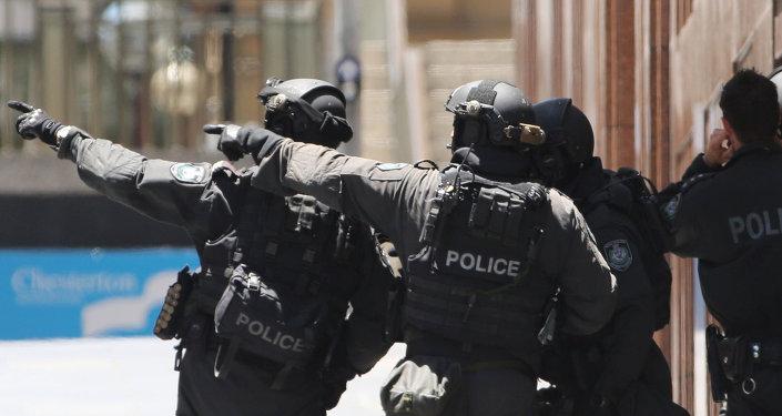 Des policiers armés à Sydney, en Australie