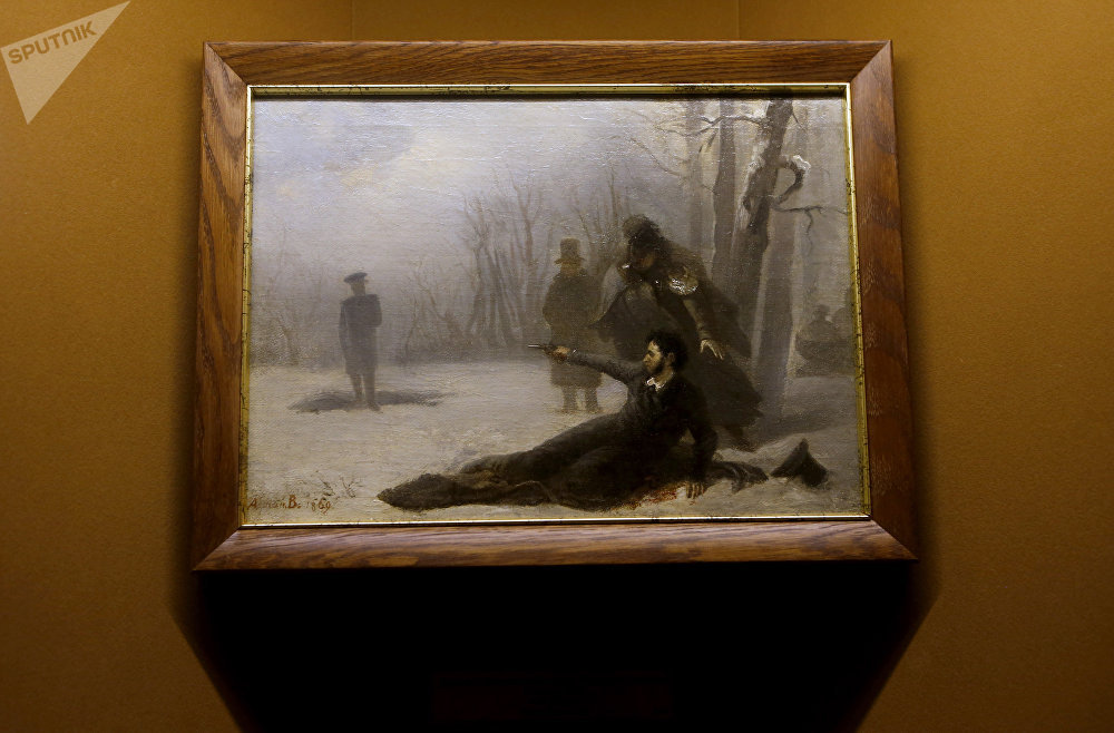 Un duel a opposé Alexandre Pouchkine et Georges d'Anthès