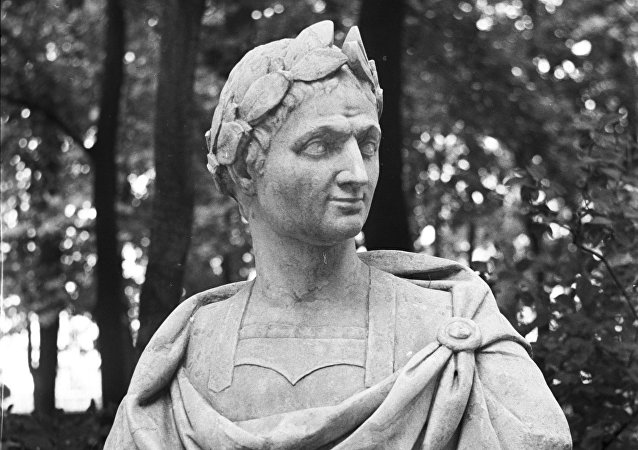 Un buste de Jules César