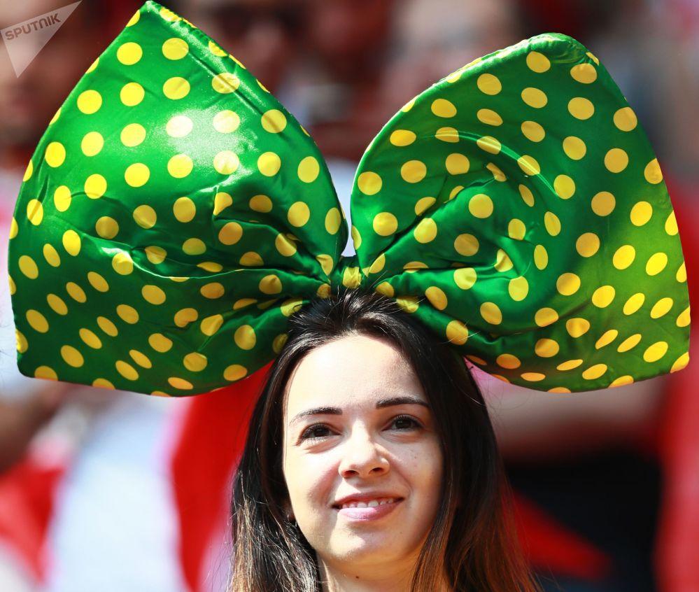 Les supportrices lors de la Coupe du Monde de football 2018