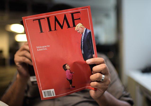 La nouvelle couverture du Time