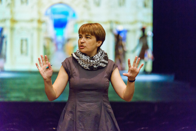 Anastasia Sergeeva, la chargée de communication du théâtre Masterskaya de Piotr Fomenko