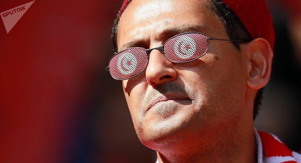 Un supporter tunisien
