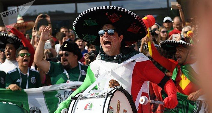 Des fans mexicain