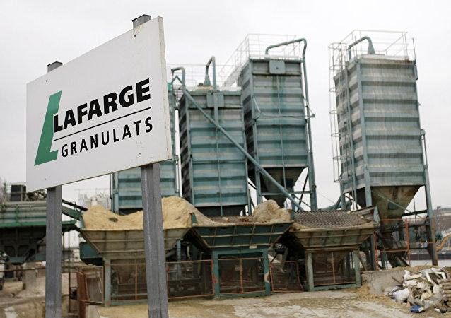 Logo du groupe cimentier Lafarge